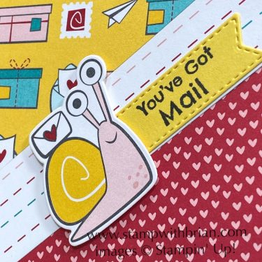 Snail Mail Designer Series Paper, Stampin Up!, Brian King