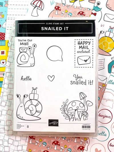 Snailed It, Stampin Up!