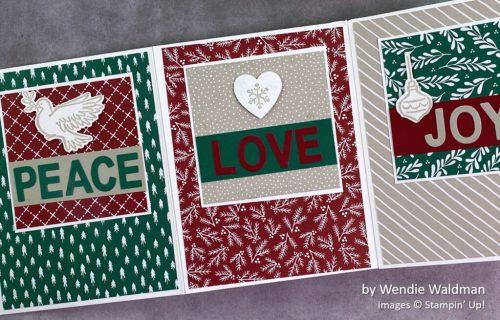 by Wendie Waldman, Stampin Up! Christmas card 2