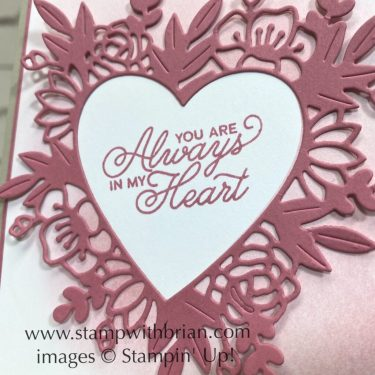 Always in My Heart Bundle, Stampin Up!, Brian King