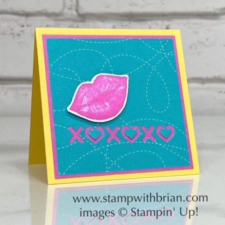 Hearts & Kisses Bundle, Many Hearts Dies, Stampin Up!, Brian King