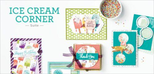 Ice Cream Corner Suite, Stampin Up!, Brian King