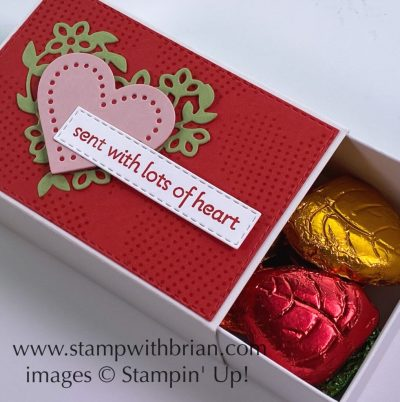 Lots of Heart Bundle, Love You Always Treat Box, Stampin Up!, Brian King