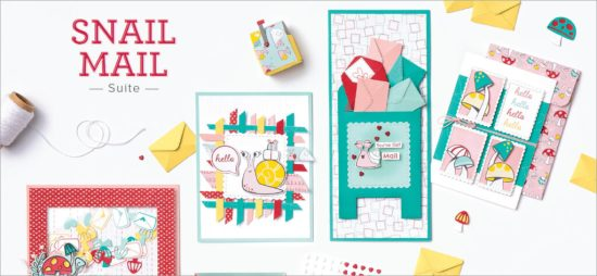 Snail Mail Suite, Stampin Up!, Brian King