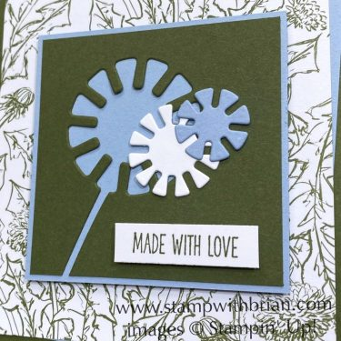 Garden Wishes Bundle, Dandy Wishes Dies, Stampin Up!, Brian King