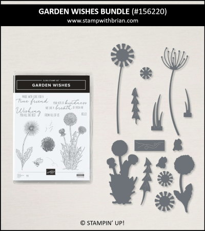 Garden Wishes Bundle, Stampin Up! 156220