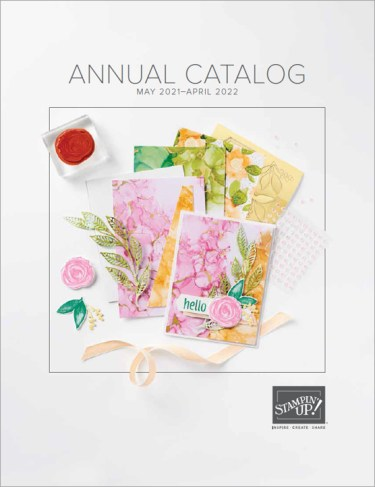 2021 Annual Catalog, Stampin Up!, Brian King
