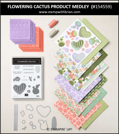 Flowering Cactus Product Medley, Stampin Up!, 154559