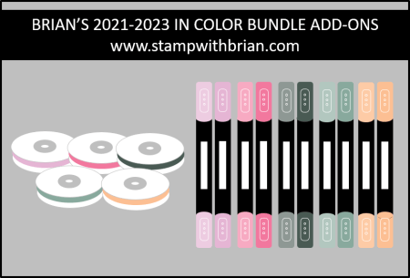 Brian's 2021-2023 In Color Bundle Add-Ons, stampwithbrian