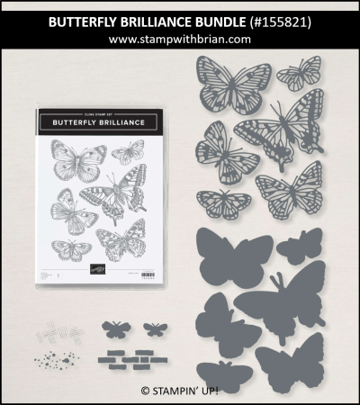 Butterfly Brilliance Bundle, Stampin Up!, 155821