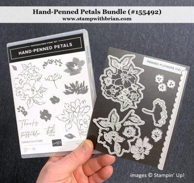 Hand-Penned Petals Bundle, Stampin Up! 155492