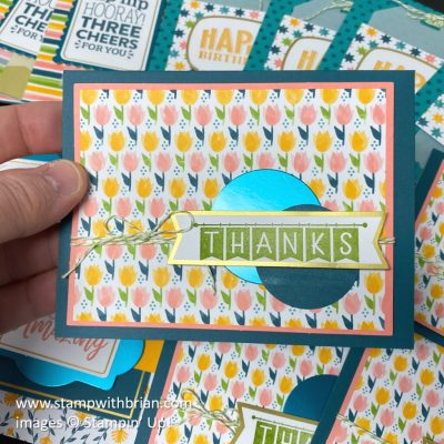 You Are Amazing Project Kit, Stampin Up!, card 1