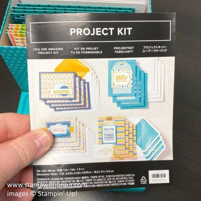 You Are Amazing Project Kit, Stampin Up!