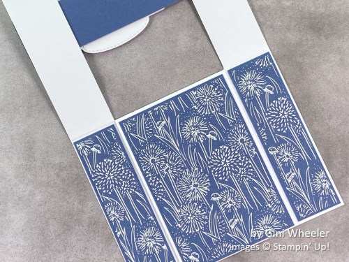 by Gini Wheeler, Stampin Up!, swap card 2