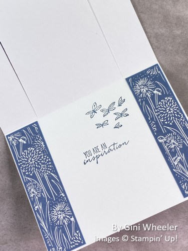 by Gini Wheeler, Stampin Up!, swap card 3