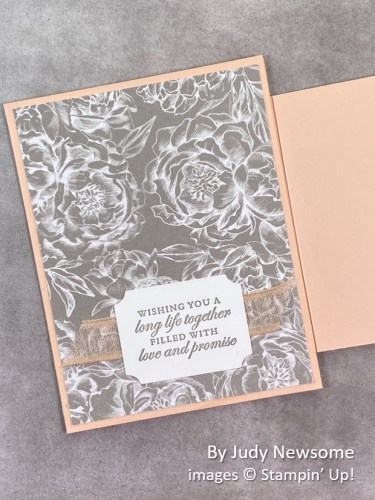 by Judy Newsome, Stampin Up!, swap card 2