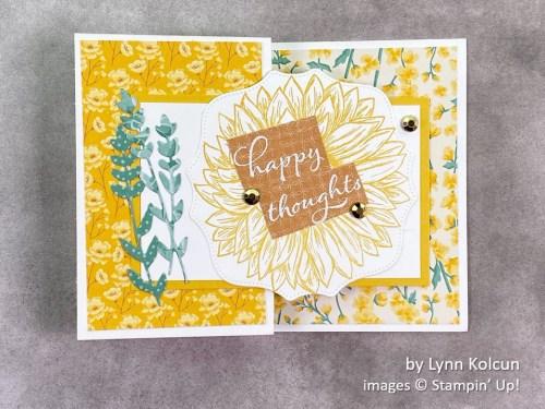 by Lynn Kolcun, Stampin Up!, swap card 1