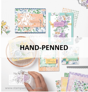 Hand-Penned Suite, Stampin Up! 2021 Annual Catalog