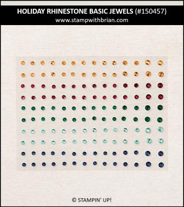 Holiday Rhinestone Basic Jewels, Stampin Up! 150457