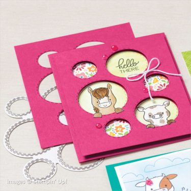 Picture This Dies catalog sample, Stampin Up!