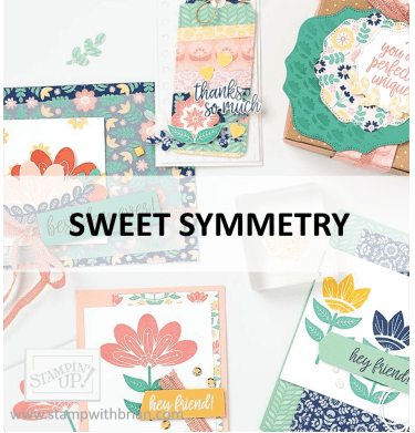 Sweet Symmetry Suite, Stampin Up! 2021 Annual Catalog