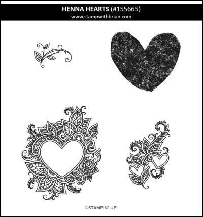 Henna Hearts, Stampin Up! 155665