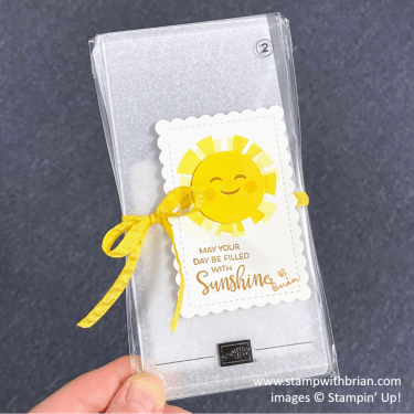 Sharing Sunshine, Celebrate with Flowers, Stampin Up!, Brian King