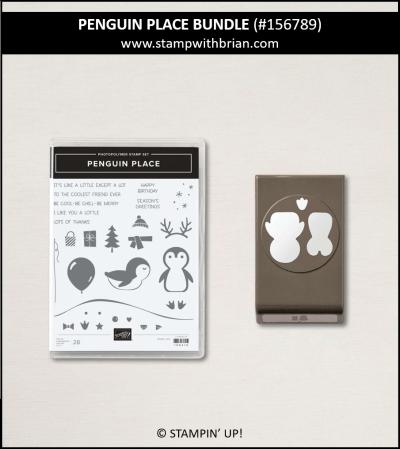Penguin Place Bundle, Stampin Up! 156789