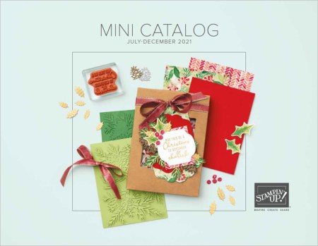 Stampin Up! July-December 2021 Mini Catalog, Brian King