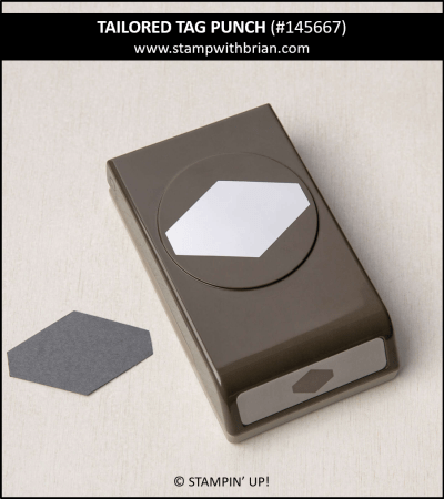 Tailored Tag Punch, Stampin Up!, 145667