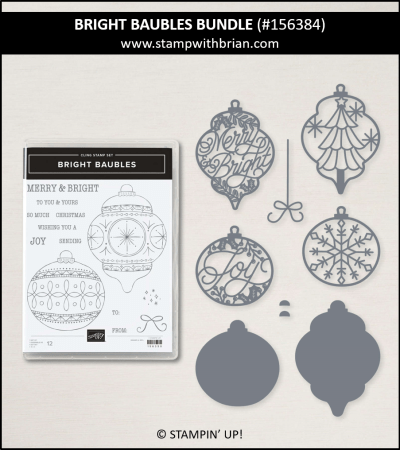 Bright Baubles Bundle, Stampin Up! 156384