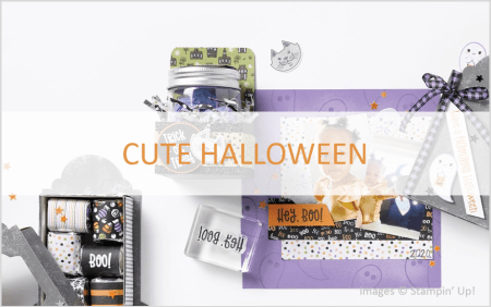 Cute Halloween Product Suite, Stampin Up!, July-December 2021 Mini Catalog