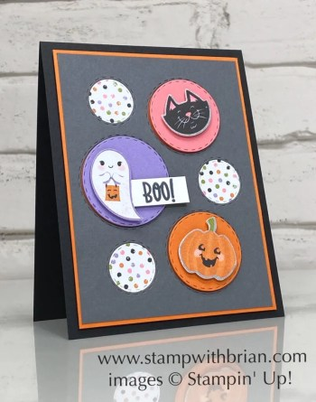 Picture This Dies, Cute Halloween Designer Series Paper, Stampin Up!, Brian King, cute Halloween card