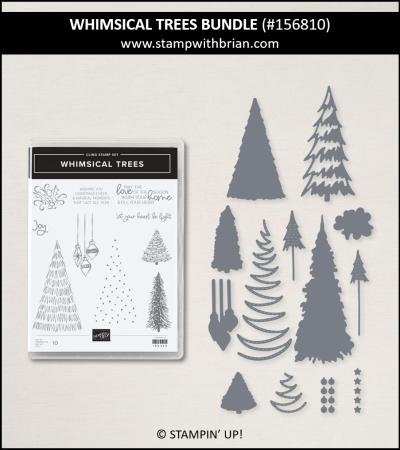 Whimsical Trees Bundle, Stampin Up! 156810