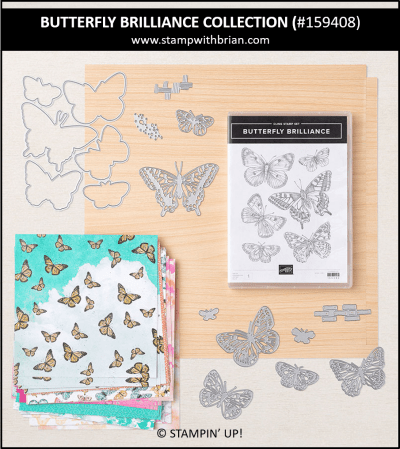 Butterfly Brilliance Collection, Stampin Up! 159408