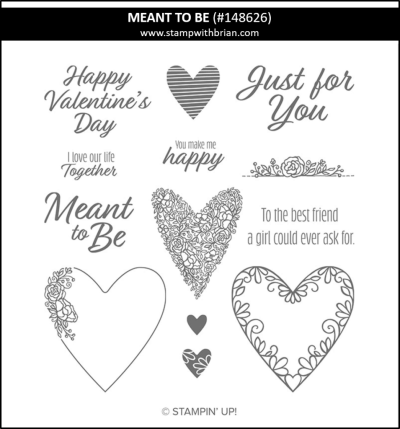 Meant to Be, Stampin Up! 148626