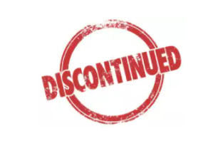 Discontinued List