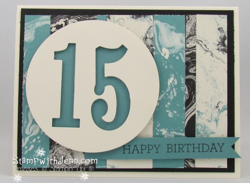 Easy Teenage Boy Birthday Card Stamp With Jenn