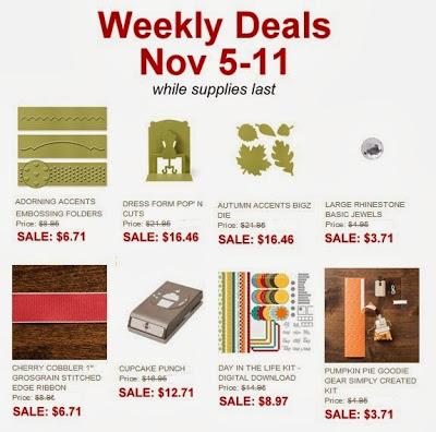 Weekly Deals Nov5