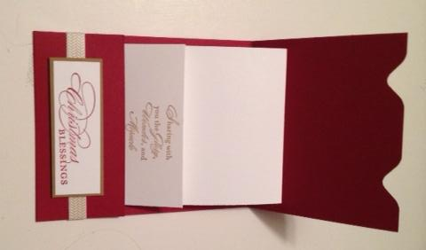 Nativity Gift Card Inside