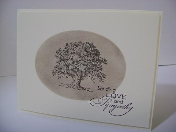 Sympathy Oak Tree