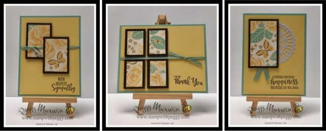 Peaceful Moments Stamp Set, Mosaic Mood Designer Paper, One Sheet Wonder, Stamp with Peggy