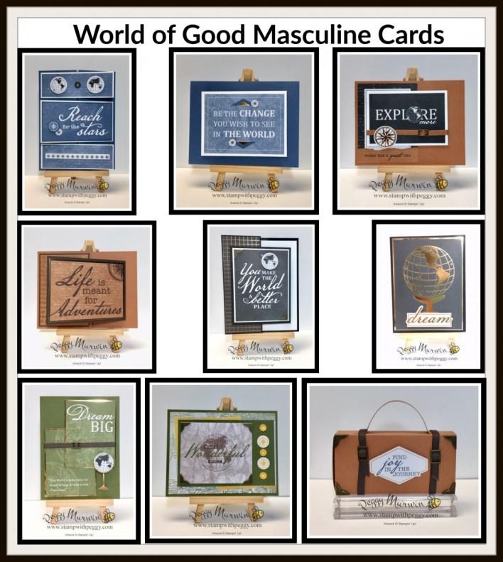 Summer Splash -- World of Good Masculine Cards