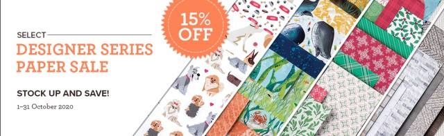 Designer Paper Sale, Stamp with Peggy
