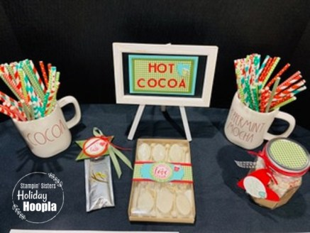 Heartwarming Hugs Suite, Stampin' Sisters Holiday Hoopla 2020, Christmas, Hot Cocoa, Stamp with Peggy