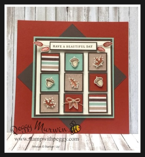 Gilded Autumn Suite, Beautiful Autumn Bundle, Beautiful Autumn Stamp Set, Autumn Punch Pack, Gilded Autumn Designer Paper, Fall, Framed Art, Stamp with Peggy