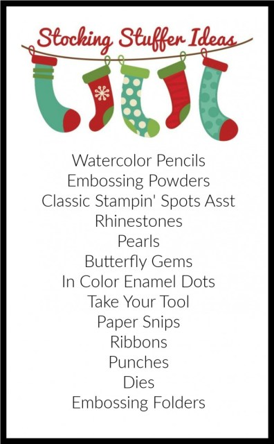 Stocking Stuffer Ideas, Merry & Bright Online Extravaganza, Stamp with Peggy