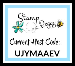 Host Code, January, Stamp with Peggy