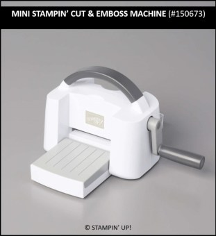 Mini Stampin' Cut & Emboss Machine, Spring Mini Catalog, Sale-a-Bration, Stamp with Peggy