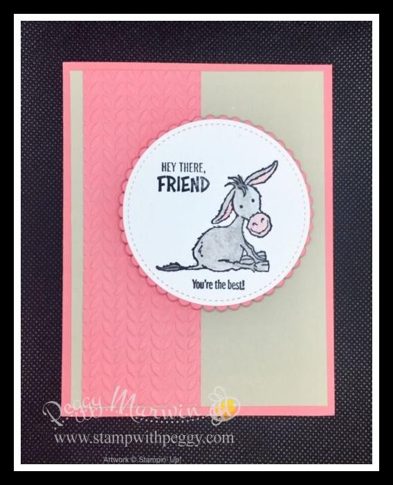 Hey There Friend - Darling Donkeys